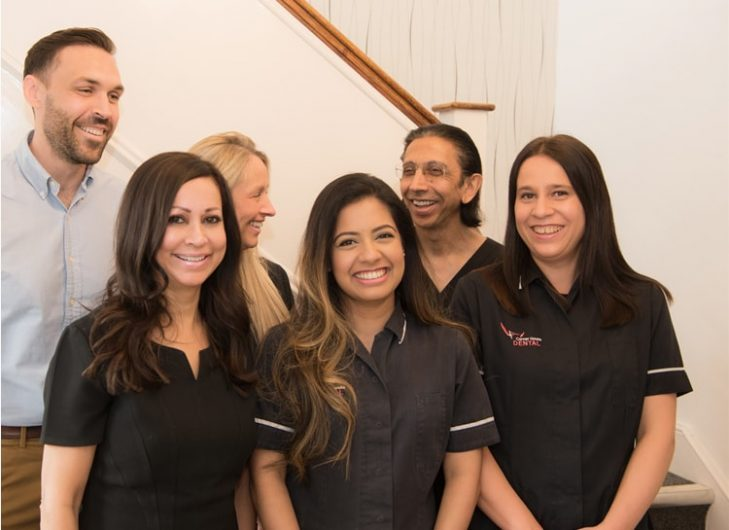 Family at Surbiton Dental